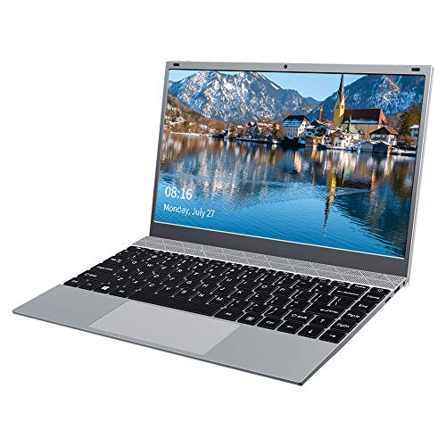 KUU XBook Laptop 14,1 Zoll, 8GB RAM 256GB SSD,Inter Celeron J4115 ultradünnes Notebook PC, Windows 10 Ultrabook PC mit USB 3.0 und Blueetooth 4.2, IPS FHD-Bildschirm