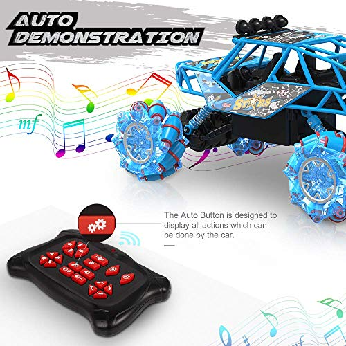 RC Auto kaufen Monstertruck Bild 3: Bfull 4WD RC Car, 1/16 Drift Master Music Buggy 2.4 GHz Remote Control High Speed Racing Vehicle All Terrain Monster Truck for On & Off Road Games, 2 Rechargeable Batteries*