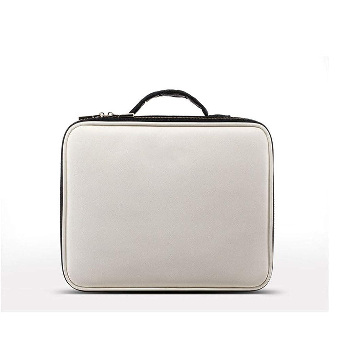 コインランドリー胴体普遍的な携帯用化粧品の箱、旅行構造箱の携帯用洗面用品のオルガナイザー用具の芸術家の収納袋男性および女性のために適した,26*23*9cm