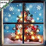 150 Schneeflocken Fensterbilder Weihnachten
