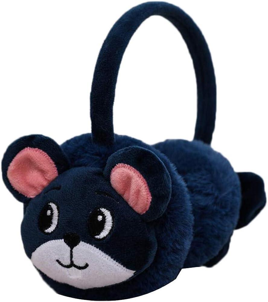 Cute Animal Soft Earmuffs Winter Warm Outdoor Ear Covers Headband Fur Ear warmer,#C19