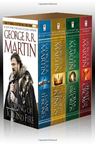 A Song of Ice and Fire : Coffret 4 volumes : A Game of Thrones ; A Clash of Kings ; A...