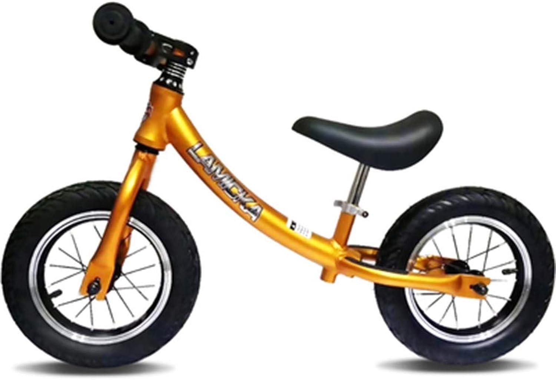 tienda en linea SSRS El Coche de la balanza de los Niños 2-6 2-6 2-6 años de Edad de aleación de Aluminio sin Pedal for Niños Scooter (Color   amarillo )  envío gratuito a nivel mundial
