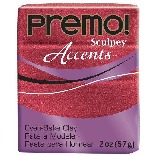 Premo Sculpey Accents (Rojo Brillante)