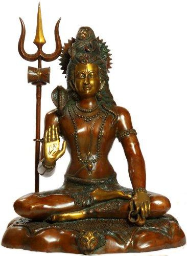 Exotic India Lord Shiva – Laiton – Sculpture