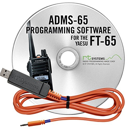 RT Systems Programming Software and USB-55 Cable for Yaesu FT-65 Dual Band HT