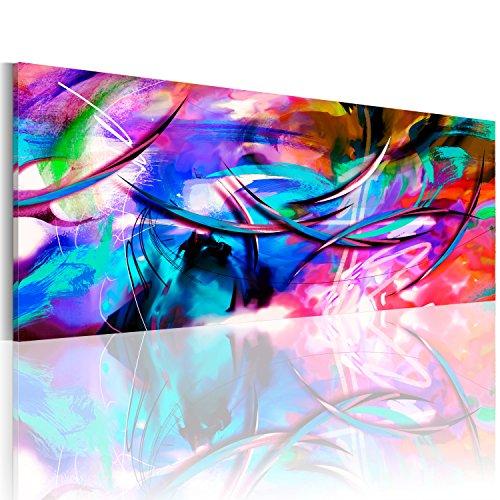 murando - Bilder 150x50 cm Vlies Leinwandbild 1 TLG Kunstdruck modern Wandbilder XXL Wanddekoration Design Wand Bild - Abstrakt a-A-0001-b-c