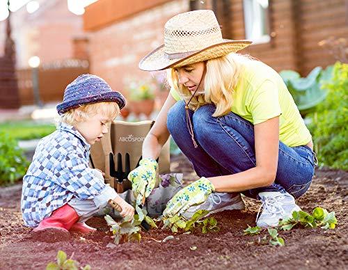 ABCOSPORT 9-piece garden tool set