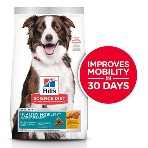 Hill's Science Diet Dry Dog Food, Adult, Large Breed, Healthy Mobility for Joint Health, Chicken...