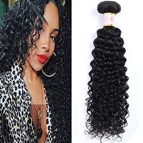 Brazilian Kinky Curly Virgin 1 Bundle Hair Brazilian Curly Hair 8A 100% Unprocessed Brazilian Kinky Curly Virgin Hair Extensions … (10, bundles)