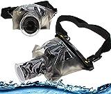 Navitech Schwarze wasserdichte Unterwassergehäuse Kasten/Beutel-trockener Beutel für dasSamsung NX300 SMART Digital Camera, Black