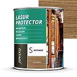 LASUR PROTECTOR SATINADO.(7 COLORES), Protege, decora y...