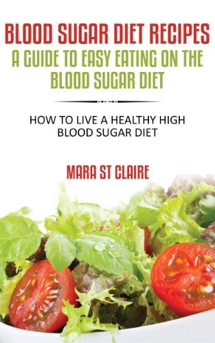 high blood sugar diet menu
