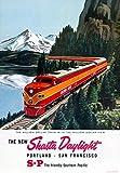 AZSTEEL The New Shasta Daylight Portland | Poster No Frame