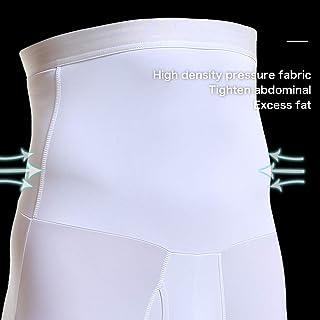 Cocosmart Waist Trainer For Men Long Torso Under Clothes Waist Trainer Body Shaper Man Male Trainers Abdominal Binder Shapewear Slimming Modeling Strap Tummy Shaper Girdle Belt White Large