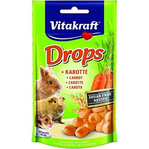 Vitakraft Drops per roditori, gusto carota, 1 pezzi