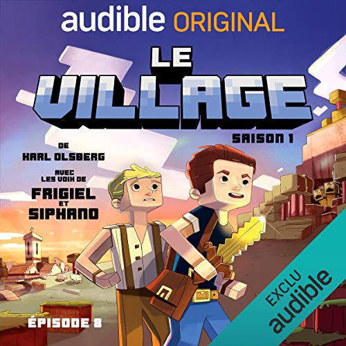 Le village 1.8 audiobook cover art