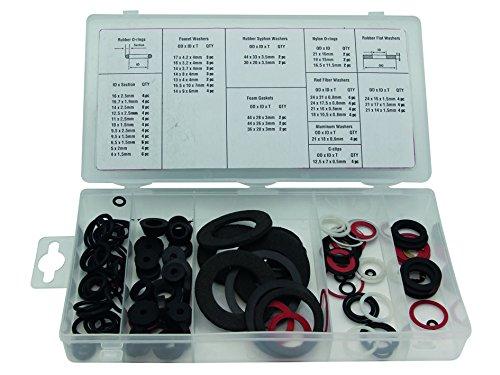 Perel HAS01Dichtungsringe für Wasserhähne, verschiedene Größen im Sortiment