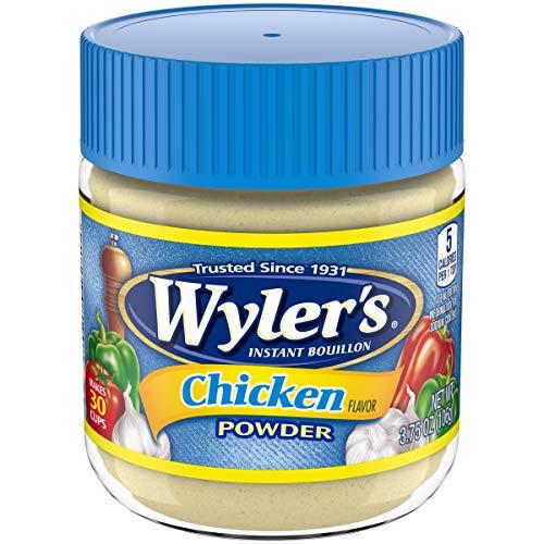 Wyler's Chicken Instant Bouillon Powder (3.75 oz Jars, Pack of 8)