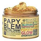 Bella Vita Organic PapyBlem Pigmentation Blemish Cream Gel For Spot Removal, Brightening