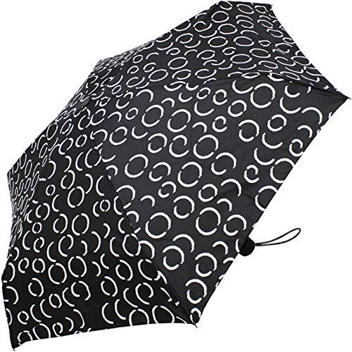 Pierre Cardin Taschenschirm Petito Black & White - Kreise