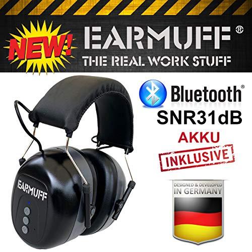 SNR 31dB EARMUFF Bluetooth only gehoorbescherming hoofdtelefoon gehoorbescherming