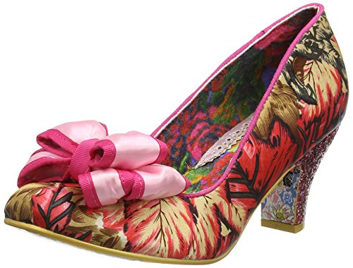 Irregular Choice Damen Ban Joe Pumps, Pink (Pink/Floral Multi Al), 40 EU