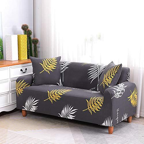 HXTSWGS Funda de sofá de Alta Elasticidad,Funda de sofá elástica, Tejido elástico, Funda Protectora para Muebles-Marrón 1_90-140cm