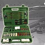 YNITJH Limpiador De Rifles,Kit De Limpieza De Armas,Arma Cuidado Mantenimiento,con Maleta,para La Limpieza De Todos Los Rifles/Escopetas De Pistola