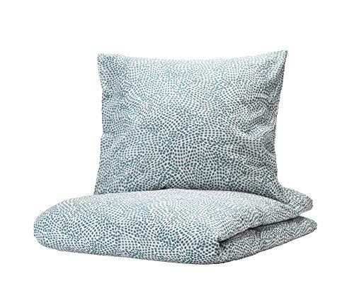 Ikea Trätkressula - Juego de cama (funda de almohada de 80 x 80 cm, funda de edredón de 140 x 200 cm)