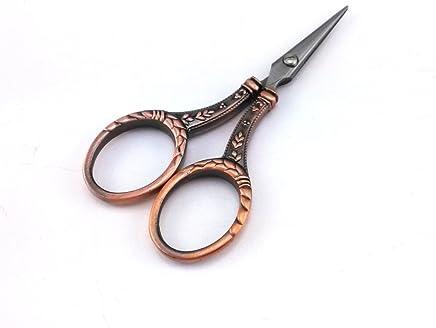 yueton 复古笔 尖 刀 叶子 针织 刺绣剪刀 铜色