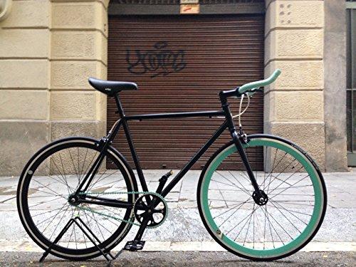 MOWHEEL Bicicleta Fixie Single Speed Talla 56