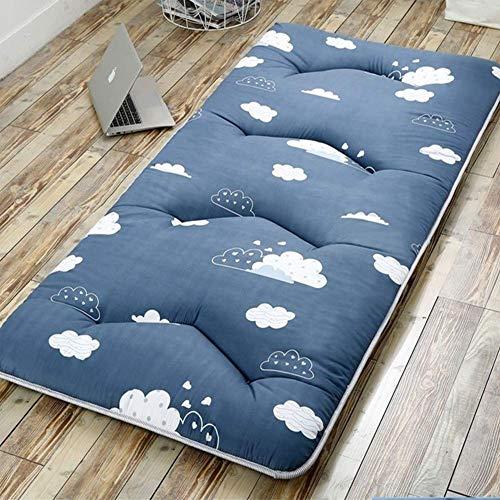 Schlafende Tatami-Matratze, ultraweiche, atmungsaktive japanische Futon-Fußmatte...