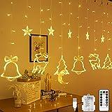 LED Lichterkette, 12 Sterne...