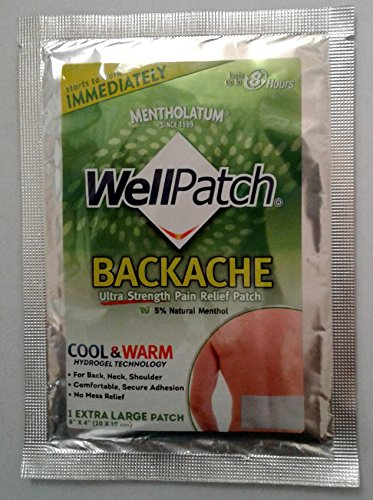 WellPatch Cool & Warm Backache Relief Patch