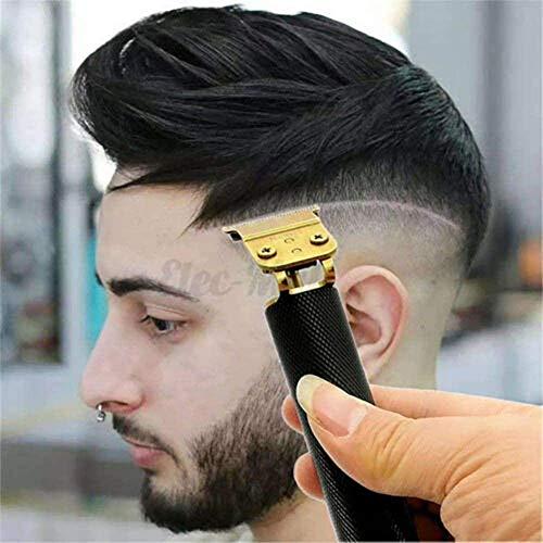 ÉDM Haircut Trimmer Electric Clipper Hairless Hair Set Rechargeable Wireless Hair Clipper-Black