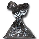 2000 Stück Hundekotbeutel 21×32+3,5 cm – zu 100 Stück geblockt – Der Umwelt zuliebe aus 100% Recycling Material! - 3