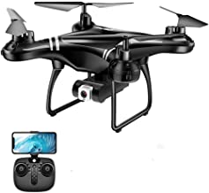 $197 » melysUS FPV Drone with 4K Camera, WiFi HD Live Video, GPS Auto Return, RC Quadcopter for Adults Teens Beginners
