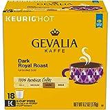 Gevalia Dark Royal Roast 100% Arabica Keurig K-Cup Coffee Pods (72 Count, 4 Boxes of 18)