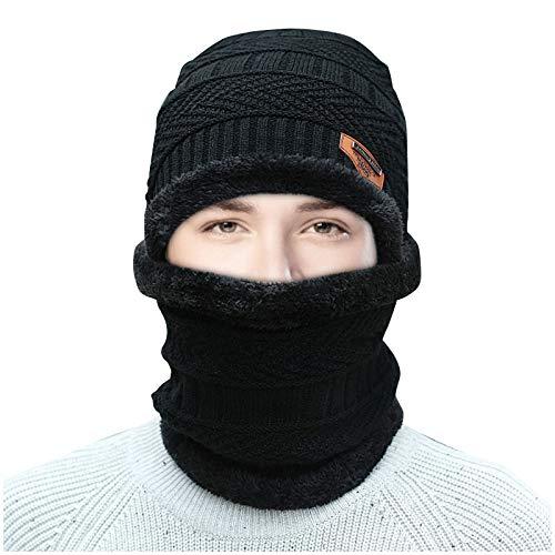 Hingpy WintermüTze, Verstellbares Warmes Und Winddichtes Kappenset FüR Den AußEnbereich, Universell FüR Erwachsene Und MäNner