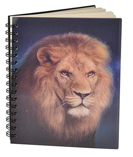 Wild Republic 3D Notebook Carnet Notizbuch 12,5x17cm 50 Blatt (Löwe)