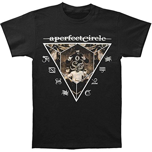 Global Design Concepts A Perfect Circle Outsider 30/1 Uomo Black T-Shirt