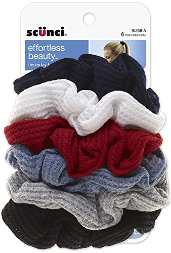 Scunci Effortless Beauty Thermal Twisters, Assorted Colors