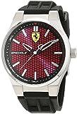 Scuderia Ferrari Orologio da Uomo Analogico al Quarzon Cinturino in Silicone Nero 0830353