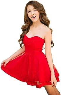 シースルー チューブトップ ワンピース ドレスライン キャバドレス ナイトドレス キャバ嬢 ファッション