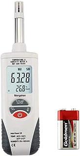Mengshen Medidor digital de humedad y temperatura. Termómet