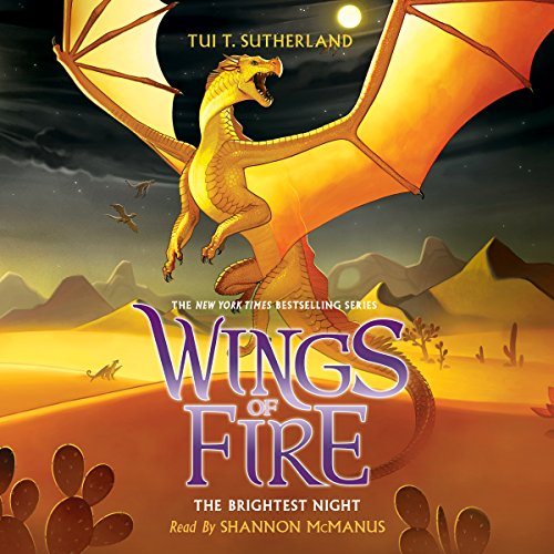 The Brightest Night audiobook cover art