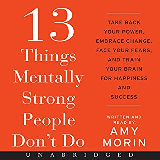 Page de couverture de 13 Things Mentally Strong People Don't Do