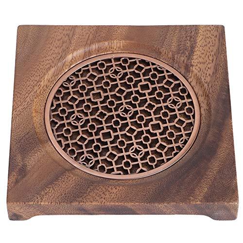 Salvamanteles de madera, soporte para ollas calientes para mesa y encimera, salvamanteles...