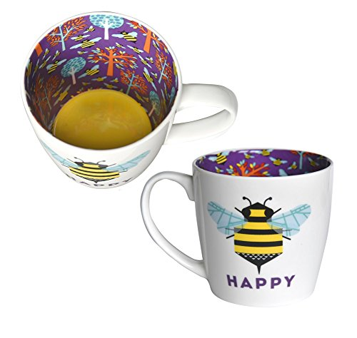Bee Happy Inside Out Mug In Gift Box Special Mugs Gifts